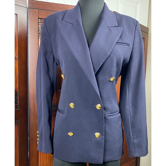 Austin Reed Jackets Coats Austin Reed Doublebreasted Oxford Blazer Jacket Poshmark